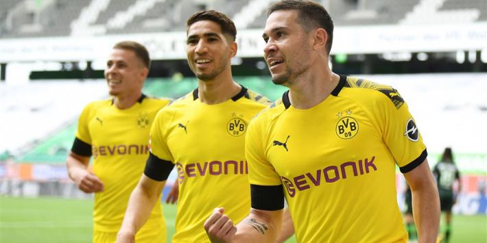 Dortmund te sterk voor Weghorst, Werder dankt Klaassen