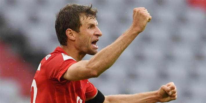 Bayern weer vier punten los na doelpuntrijke pot met Frankfurt