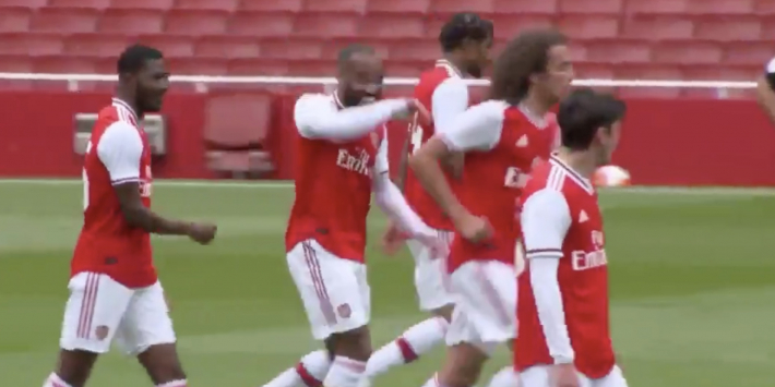 Video: Arsenal maakt er zes in oefenduel met Charlton Athletic