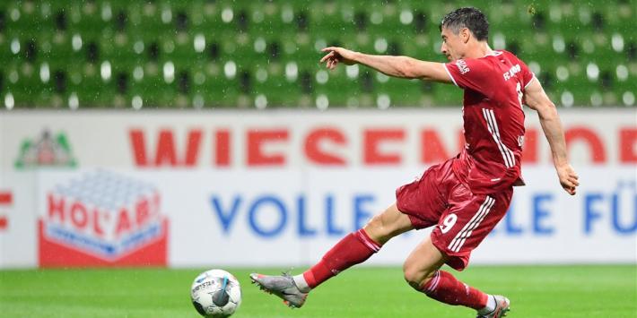 """Goretzka verrast door amper trainende Lewandowski: """"Fenomeen"""""""