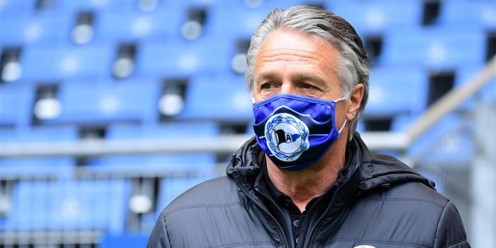 'Vlap en Van den Hoorn krijgen nieuwe trainer bij Bielefeld'