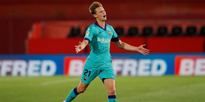 Domper Frenkie: nog altijd niet bij de Barcelona-selectie