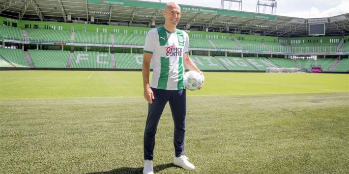 Kieft blij met Robben: 'Alleen jammer dat het bij Groningen is'