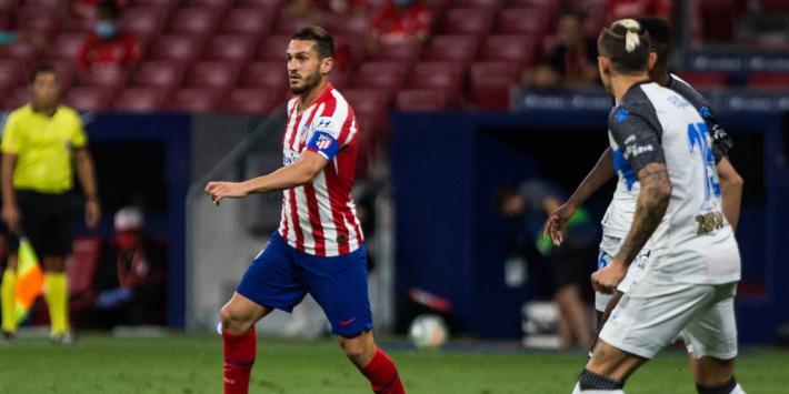 Atlético in beroep tegen vijfde gele kaart van aanvoerder Koke