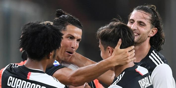 """Ronaldo na eindelijk rake vrije trap: """"Dit had ik echt nodig"""""""