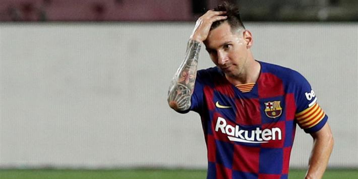 """Setién over Messi-gerucht: """"Praten waar we over moeten praten"""""""