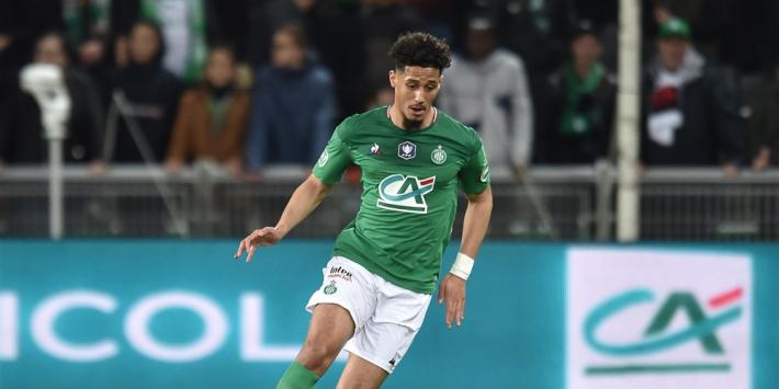 Arsenal en Saint-Etienne ruziën met elkaar over verdediger Saliba