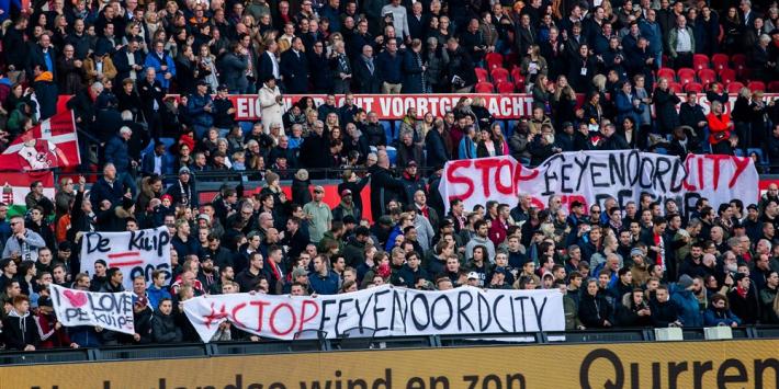 'Geldschieters Feyenoord City haken mogelijk af door intimidaties'