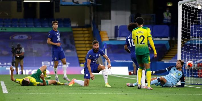 Chelsea passeert Krul slechts eenmaal, maar wint wel