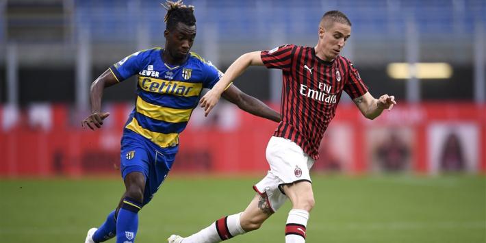 Milan houdt druk op Roma en laat Sassuolo achtervolgen