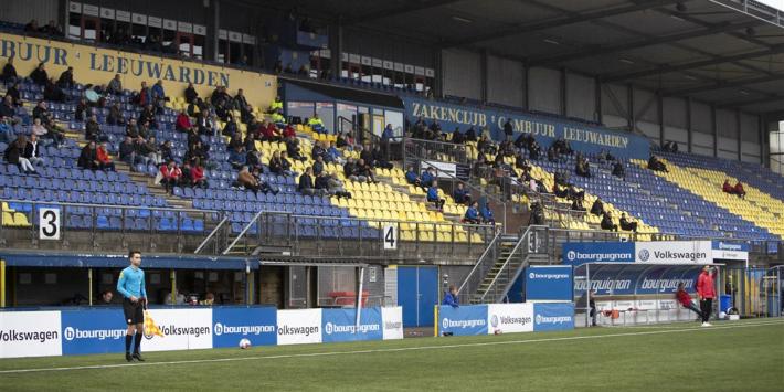 Twee spelers SC Cambuur uit voorzorg in quarantaine
