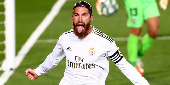 'Juventus hoopt transfervrije Sergio Ramos te strikken'
