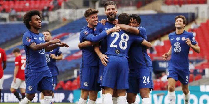 Chelsea mede door blunders De Gea naar finale van de FA Cup