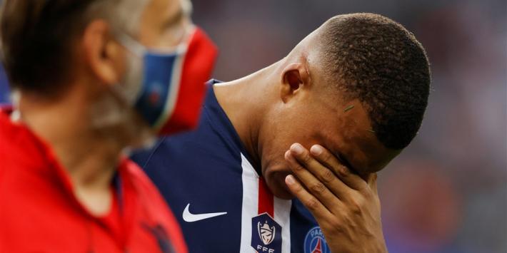 Bekerwinst bezorgt PSG bittere nasmaak over blessure Mbappé