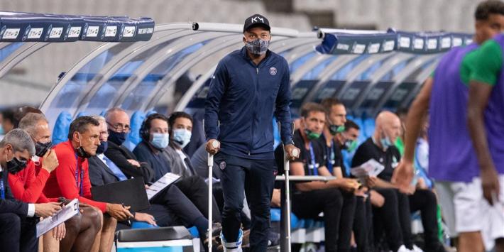 """Tuchel: """"Drie keer tegen Saint-Etienne, drie rode kaarten"""""""