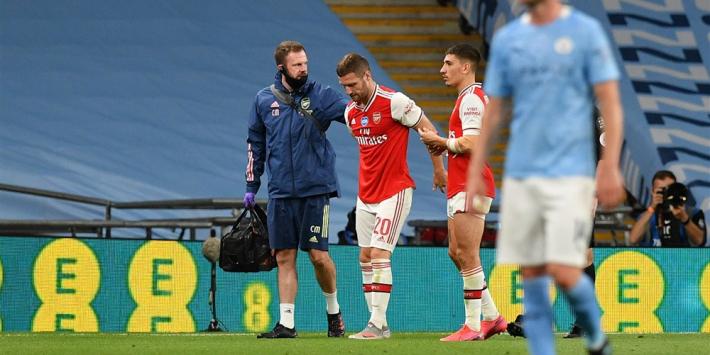 Arsenal maanden zonder Mustafi door hamstringblessure