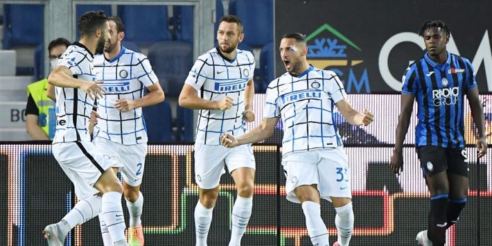 Inter wint strijd om plek twee, kampioen Juventus onderuit