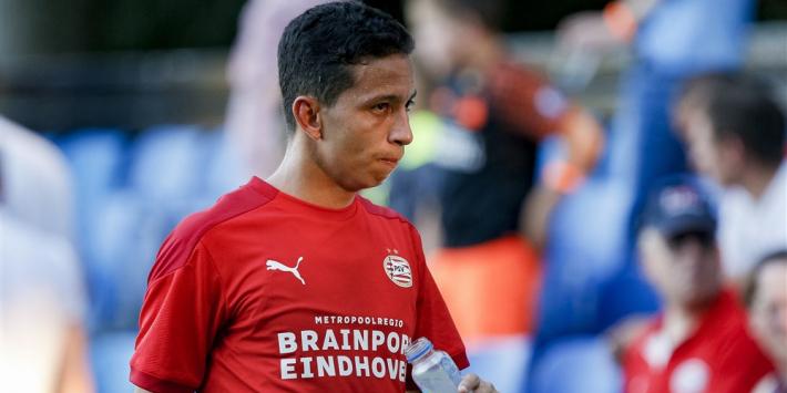 Mauro Júnior komt dit seizoen niet meer in actie voor PSV
