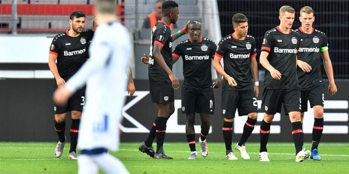 Leverkusen wint weer van Rangers, Sevilla verslaat AS Roma