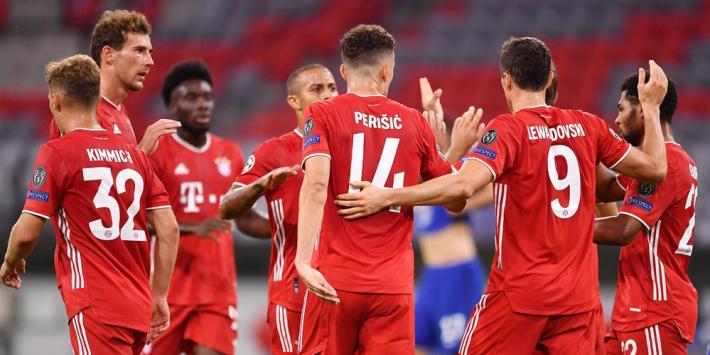 Bayern dankzij goudhaantje Lewandowski langs Chelsea