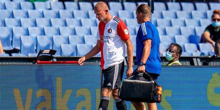 """Van Beek blijft strijdvaardig: """"Ik ben veel sneller terug"""""""