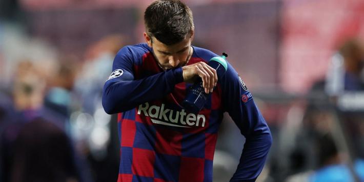"""Piqué klapt uit de school: """"Dat is barbaars van de club"""""""