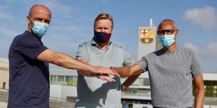 FC Barcelona voegt Schreuder en Larsson toe aan staf Koeman