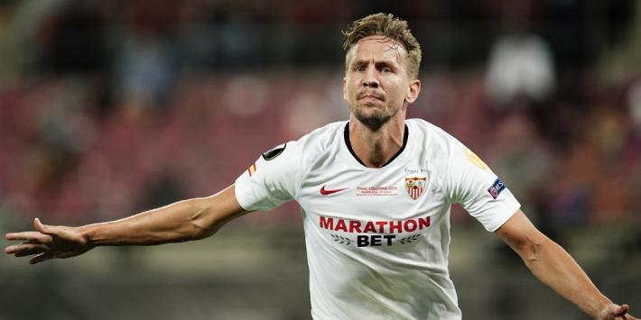 """De Jong matchwinner bij Sevilla: """"Ik houd van deze ballen"""""""