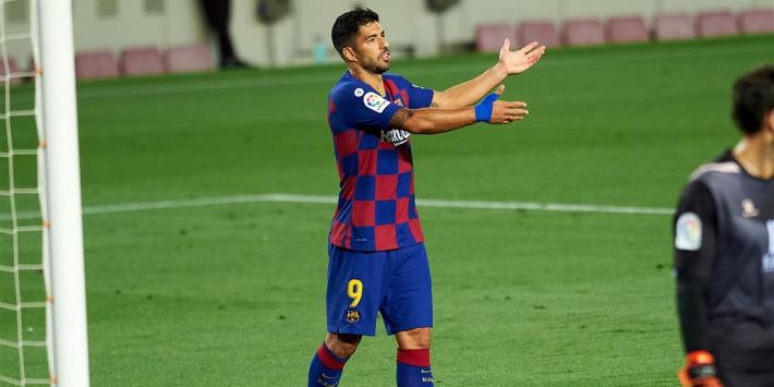 'Kans op Suárez klein, Marin op weg naar de uitgang'