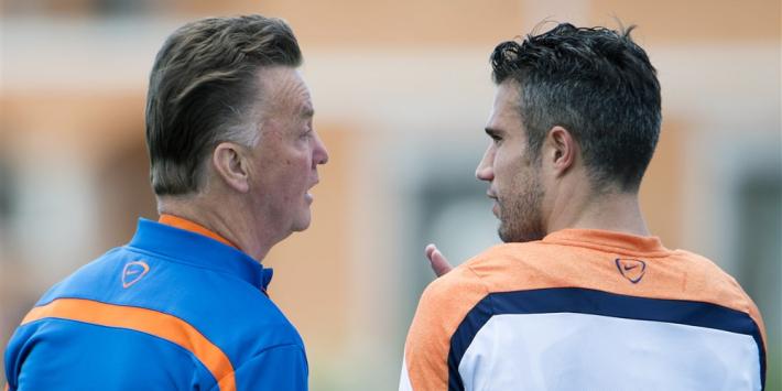 Van Persie: Van Gaal en Van Marwijk meest geschikt voor Oranje