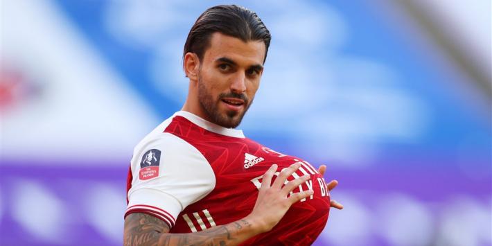 Arsenal huurt Ceballos weer, recordtransfer voor Benfica
