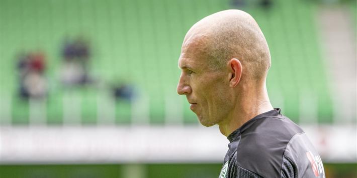 Robben na zes maanden terug in selectie Groningen