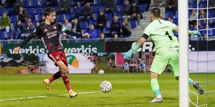 Feyenoord begint zakelijk met degelijke zege in Zwolle