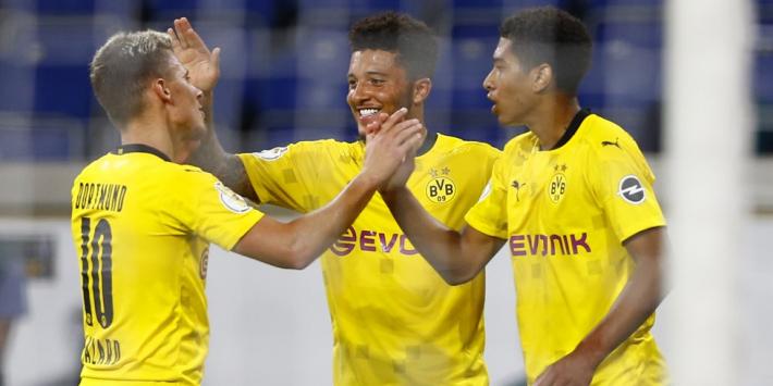 Bellingham en Reus laten zich gelden bij bekerzege Dortmund