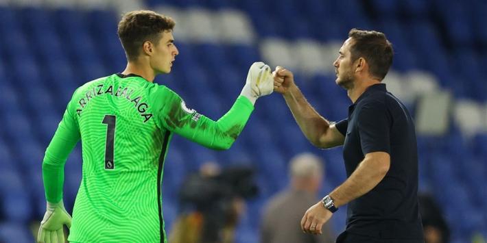 Kepa behoudt vertrouwen Lampard ondanks nieuwe blunder