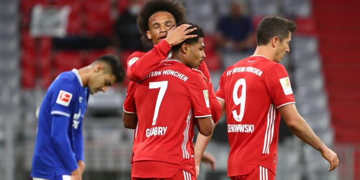 Bayern start seizoen in oude vorm: Schalke 04 vernederd
