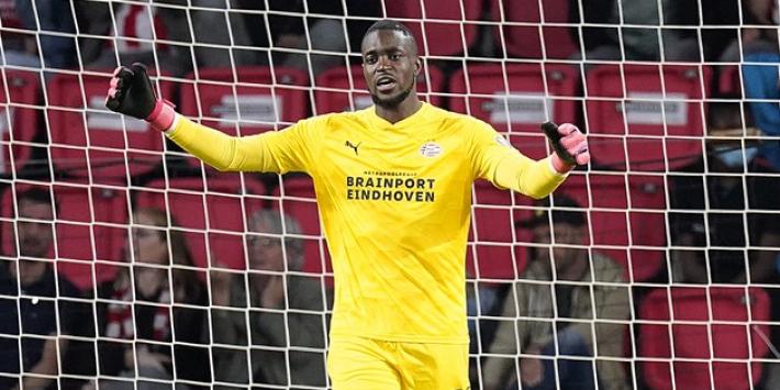 PSV overleeft ketser Mvogo na goal Maxi Romero in extremis
