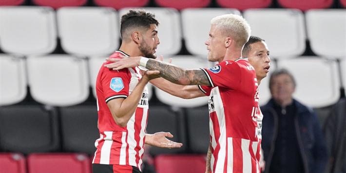 Gisteren gemist: PSV overleeft blunder, goal Van de Beek