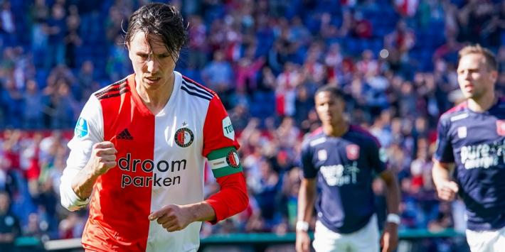 'Inter Miami laat oog vallen op Feyenoord-captain Berghuis'