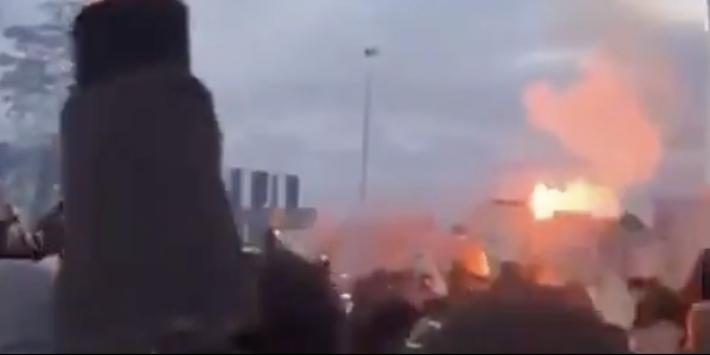 """Tilburgse burgemeester kwaad op fans: """"Zeer verwerpelijk"""""""