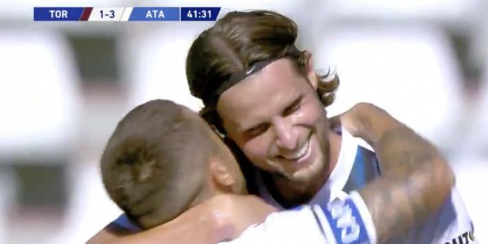 Video: Hateboer scoort na bijna anderhalf jaar weer in Serie A