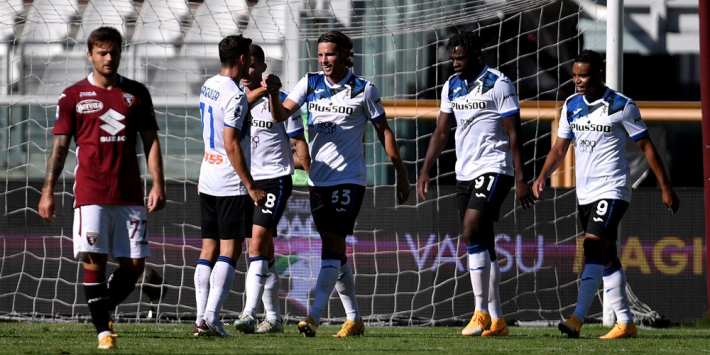 Hateboer en De Roon fleuren Atalanta-debuut Lammers op