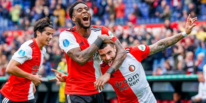 Feyenoord moeizaam langs ADO, mede dankzij wereldgoal Senesi