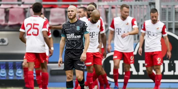 FC Utrecht uiterst moeizaam langs angstgegner RKC Waalwijk