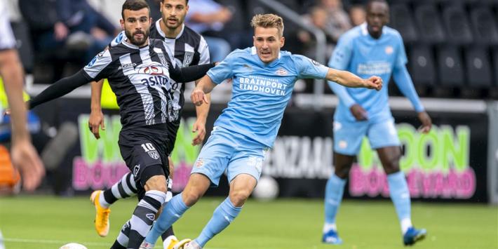 """Heracles blij met punt: """"PSV werd steeds gefrustreerder"""""""