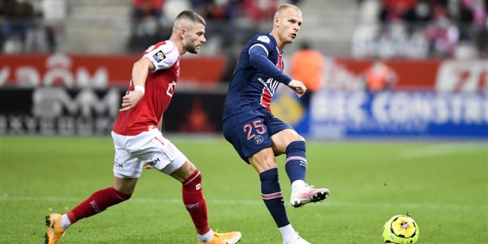 Bakker boekt met PSG simpele zege bij Stade Reims