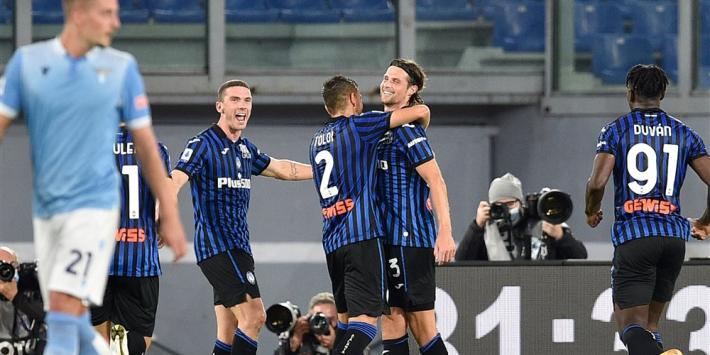 Hateboer trefzeker bij sterk Atalanta, dat concurrent Lazio sloopt