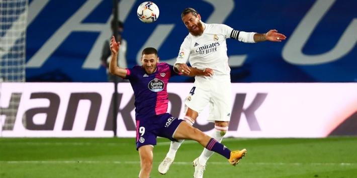 Roestig Real Madrid worstelt zich naar overwinning op Valladolid
