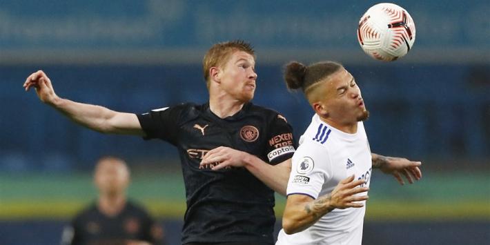 Leeds zorgt voor nieuw puntenverlies voor Manchester City