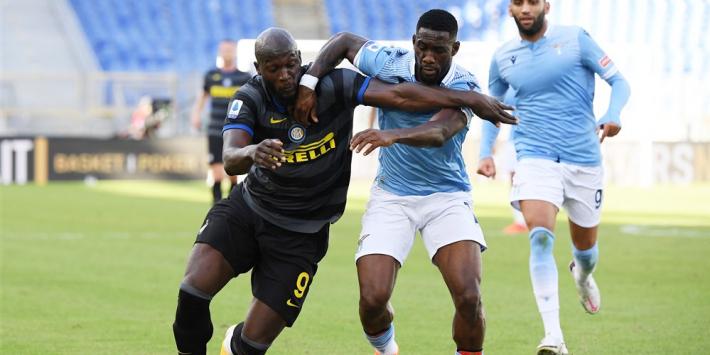Rode kaarten en goals eerlijk verdeeld bij Lazio – Inter: 1-1
